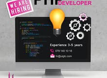 مطلوب php developer