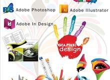 iam a 5+ exp graphic Designer