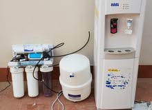 للبيع برادة ماء مع جهاز تحلية 5 مراحل