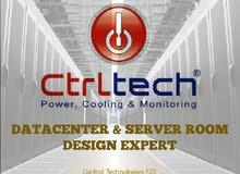 Server Room & Datacentre (Data center) construction Turnkey Solution provider Abu Dhabi