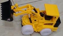 جرافه اضاءه زنون اربع عجلات جك متحرك اص
