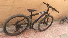 دراجة هوائية اصلية اللمانية مستخدمة اقل من شهر جير عادي 12 غيار