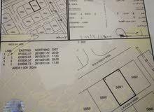 فرصة للبيع ارض سكني في المعبيله السادسة الخط المطل للخوض السادسة