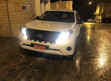 White Toyota Prado 2016 for sale