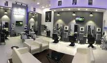 Deluxe men's barber shop..صالون رجالي راقي جدا