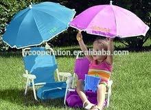 كراسي اطفال مع شمسيه وحقيبه