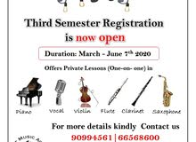 MUsic Lesson Available