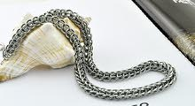 80G Silver Necklace - Vintage Style
