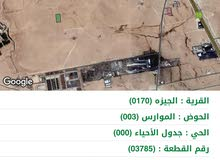 5 دونم في الجيزه طريق المطار حوض الموارس