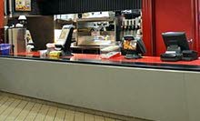 مطعم بردهة المطاعم مجهز بالكامل fully equipped food court restaurant