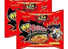 نودلز كوري حار/noodles korean spicy