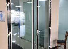 Aluminium Doors Windows Glass Partition Fittout Works.