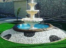 مهندس شلالات وتنسيق الحدائق المنزلية