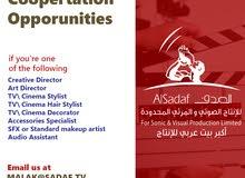 فرص تعاون مع اكبر شركة انتاج تلفزيوني عربي