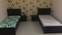 للإيجار سرير داخل غرفه ماسترعجمان