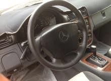 Gasoline Fuel/Power   Mercedes Benz ML 1999