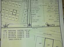 أرض سكنية للبيع في النهضه جنوب الشارع .. المصنعه