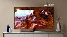 تلفزيون ذكي بشاشة مسطحة uhd 4k مقاس 43 بوصة ، طراز mu7000