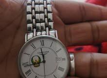 ساعة ماركة longines السويسرية المعروفة للبيع مقابل 2000 درهم قابلة للتفواض علما
