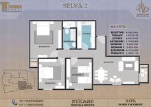 باميز مناطق 6 أكتوبر جنوب الاحياء مشروع المستثمر الصغير شقة 137متر للبيع قسط علي 3 سنوات