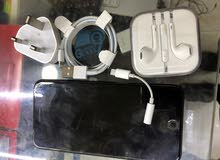 iphone 7 plus 256 gb black جديد من غير كرتونة بسسب الجمارك