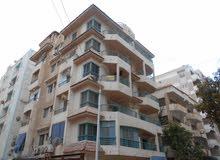 شقة 120م ناصية - للبيع في شاطئ النخيل الاسكندرية دقايق من البحر