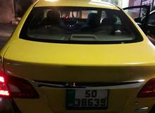 Manual Yellow Nissan 2014 for sale