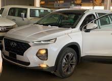 Hyundai Santa Fe car for sale 2019 in Khamis Mushait city