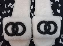 white slippers for sale