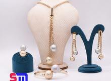 طقم الكورة (سلسلة-حلق-اسورة-خاتم)