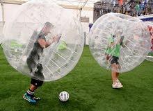 رياضة جديدة نادرة في ليبيا Bubble  soccer