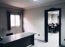 مكتب 200م بالمهندسين ميدان لبنان موقع مميز جدا يصلح جميع الاغراض
