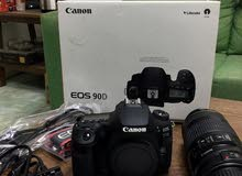 Canon 90D with 70-300 mm USM lens