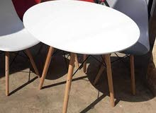 scandinavian furniture table and chairs