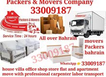 All over Bahrain mover packer removel furniture house Villa office shop store fl