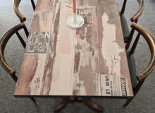 طاولة مع 4 كراسي