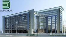 فندق للبيع في عمان الغربية مرخص 4 نجوم بمساحة بناء 13,200 م تقريبا تتكون من 117 غرفة