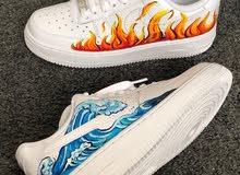 Nike custom Air Force 1