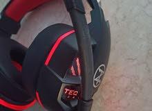 سماعة جيمينج محيطية فيبريشن من انضف انواع السماعات headphone techno zone k-60 gaming