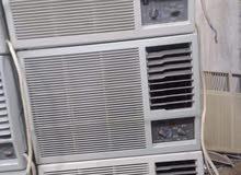 بيع وشراء مكيفات شباك واسبلت مع التركيب حار بارد