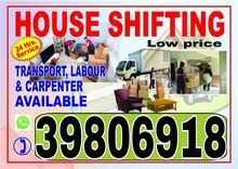 House shifting , and relocating services
