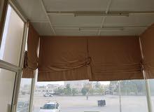 curtain (sun shade) for shops in salalah    ستائر كاسرات شمس للمحلات بصلاله