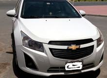 2013 model Chevrolet Cruze hatchback,white color GCC specification