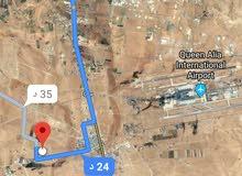 للبيع ارض 505 م في زينة عمان طريق المطار