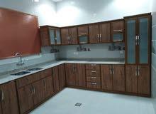 فني مطابخ المنيوم وصيانه كامله للمطبخ تفصيل تكمله تغير لون كل م هو مطلوب عندنا