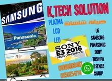 صيانة شاشات , LG, Samsong, sony , panasonic