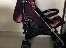 two used strollers in a very good condition