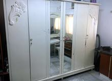 wooden cupboard-White color, Hinged Door