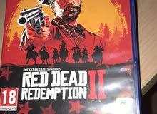 red dead شبه جديدةة للبيع فقط
