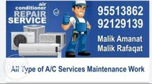 All Type of A/C Services Maintenance work